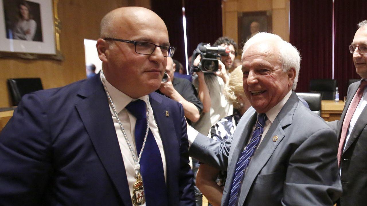 Jose Manuel y José Luis Baltar, en una foto de archivo