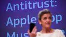 La comisaria europea Margrethe Vestager