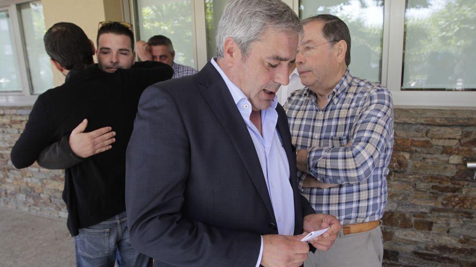 El alcalde de Carral, José Luis Mouriño, dice que la organización situó a los espectadores en el lugar del accidente