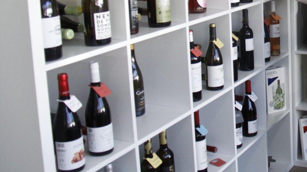 Oviedo .Han crecido las ventas en el supermercado de vino amparado por la D.O. Valdeorras
