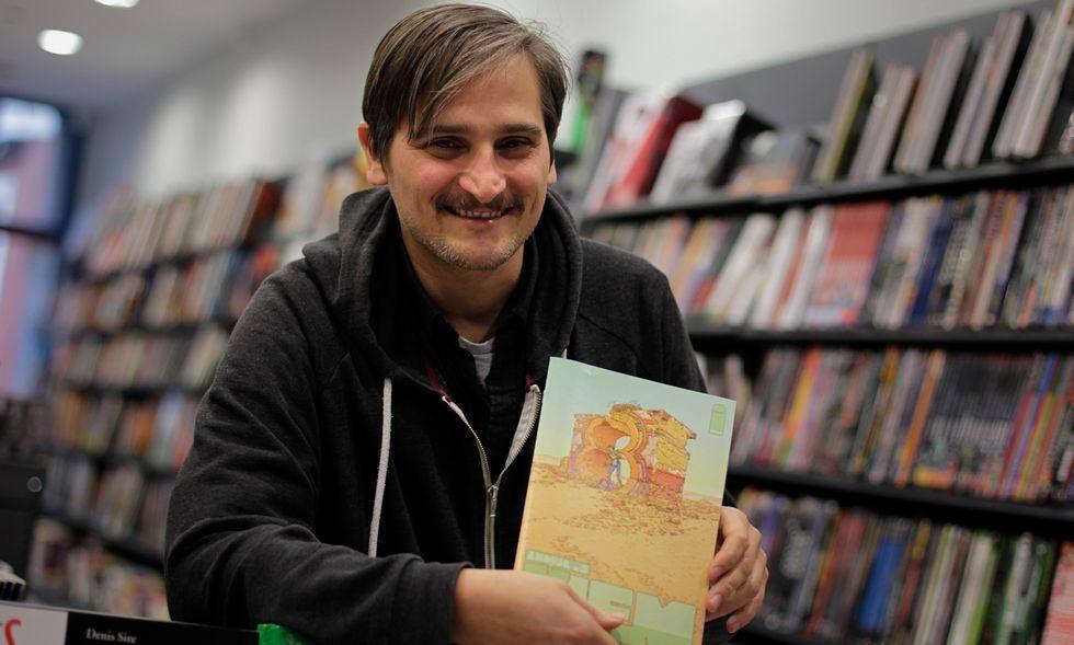 Xurxo G. Penalta presentó su cómic «8House: Kiem» en Alita Cómics.