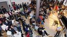 Fotografía de archivo de un festival de fin de curso en el conservatorio de Monforte