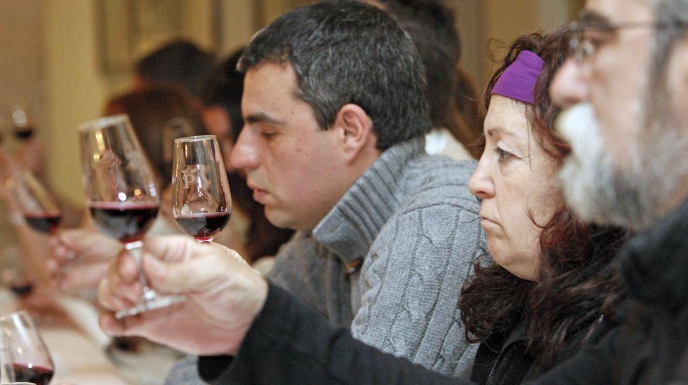 Los inventos de O Lebre das Casarizas.Cata promocional de los vinos de Ribeira Sacra en el Parador de Turismo de Monforte