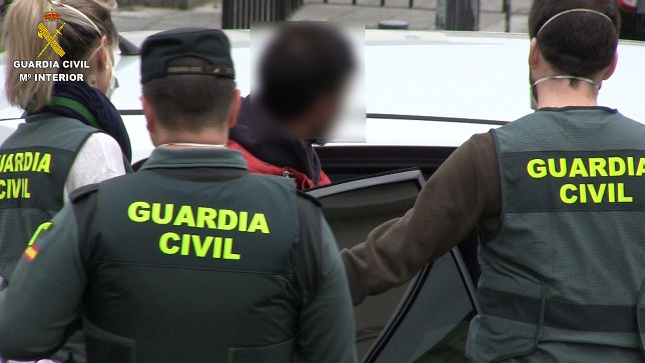 Tres detenidos en Gijón por saltarse el confinamiento en numerosas ocaciones para delinquir