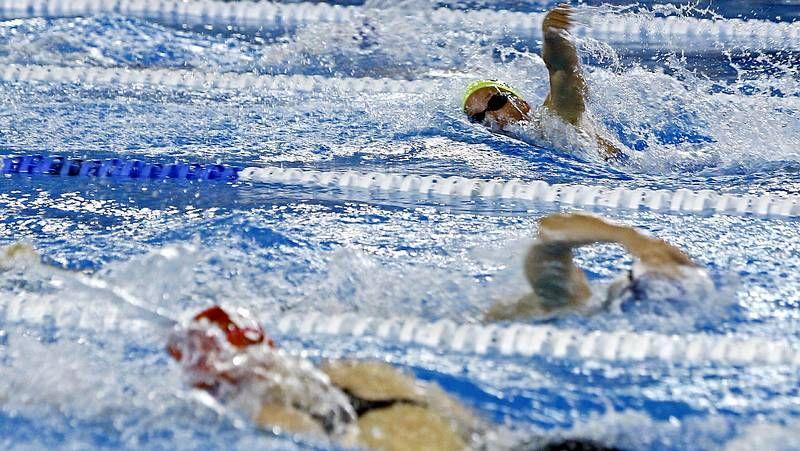 La nadadora de Castiñeiras está en un buen momento.