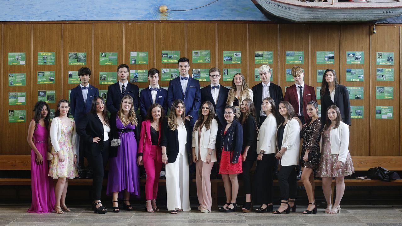 Graduación de los estudiantes de la Laboral de Culleredo
