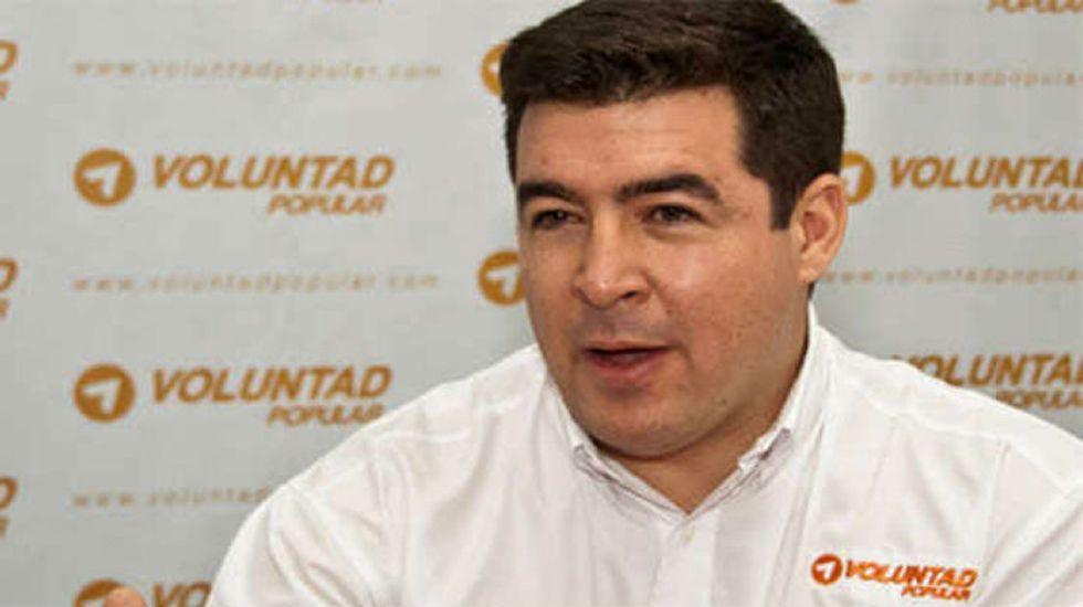 Daniel Ceballos. Voluntad Popular. Destituido por el Supremo como alcalde de San Cristóbal en el 2014 por no frenar las protestas. En arresto domiciliario por salud.