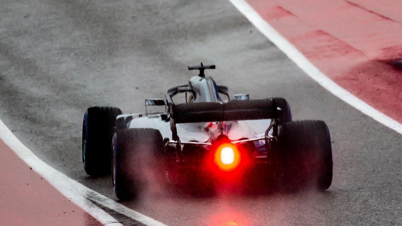 El Gran Premio de Formula uno de México en imágenes.Fernando Alonso en el circuito de Austin, Texas