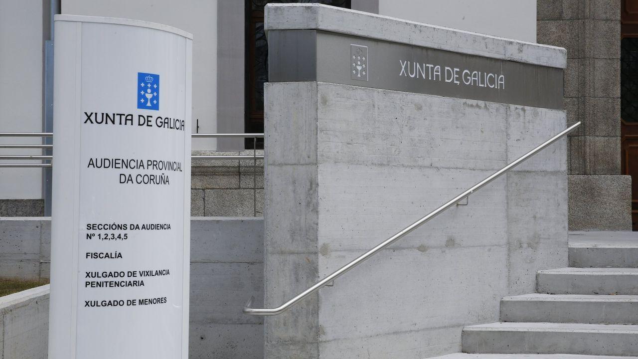 El juicio por tráfico de drogas a esta familia de Arzúa tendrá lugar esta semana en la sección segunda de la Audiencia Provincial, cuya sede está en A Coruña