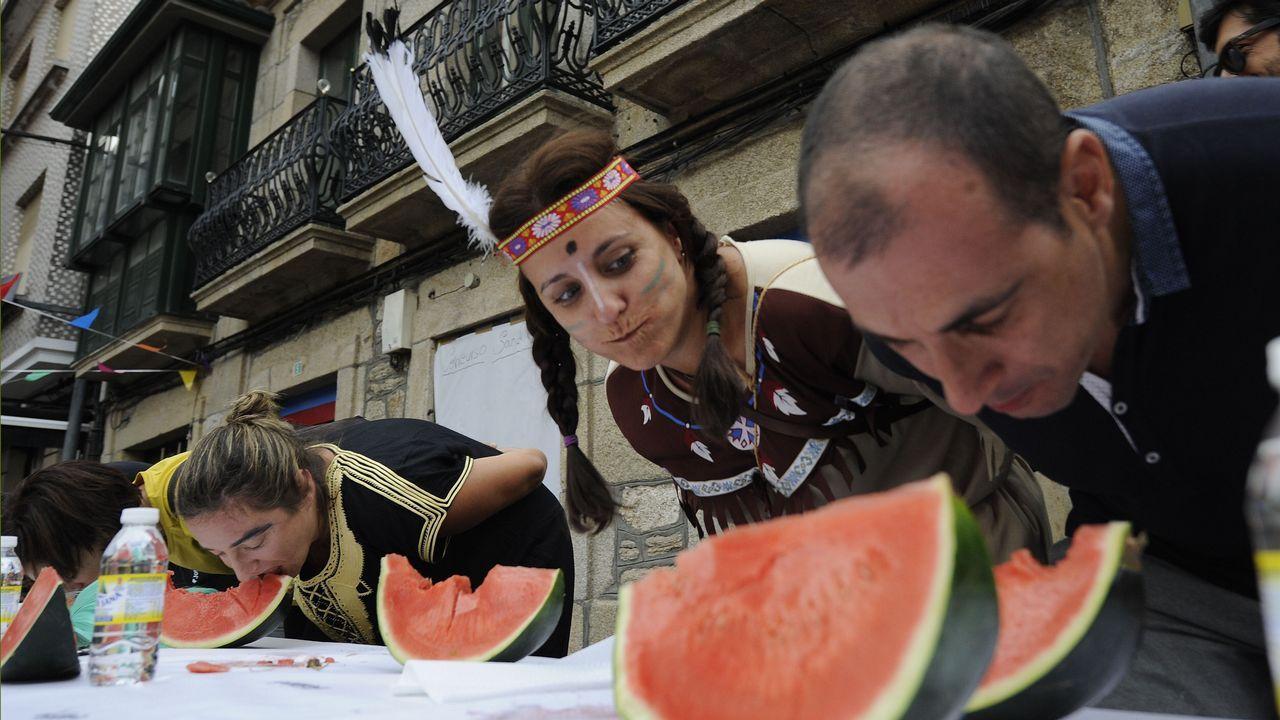 Comida de los Mayores en las fiestas de la Guadalupe
