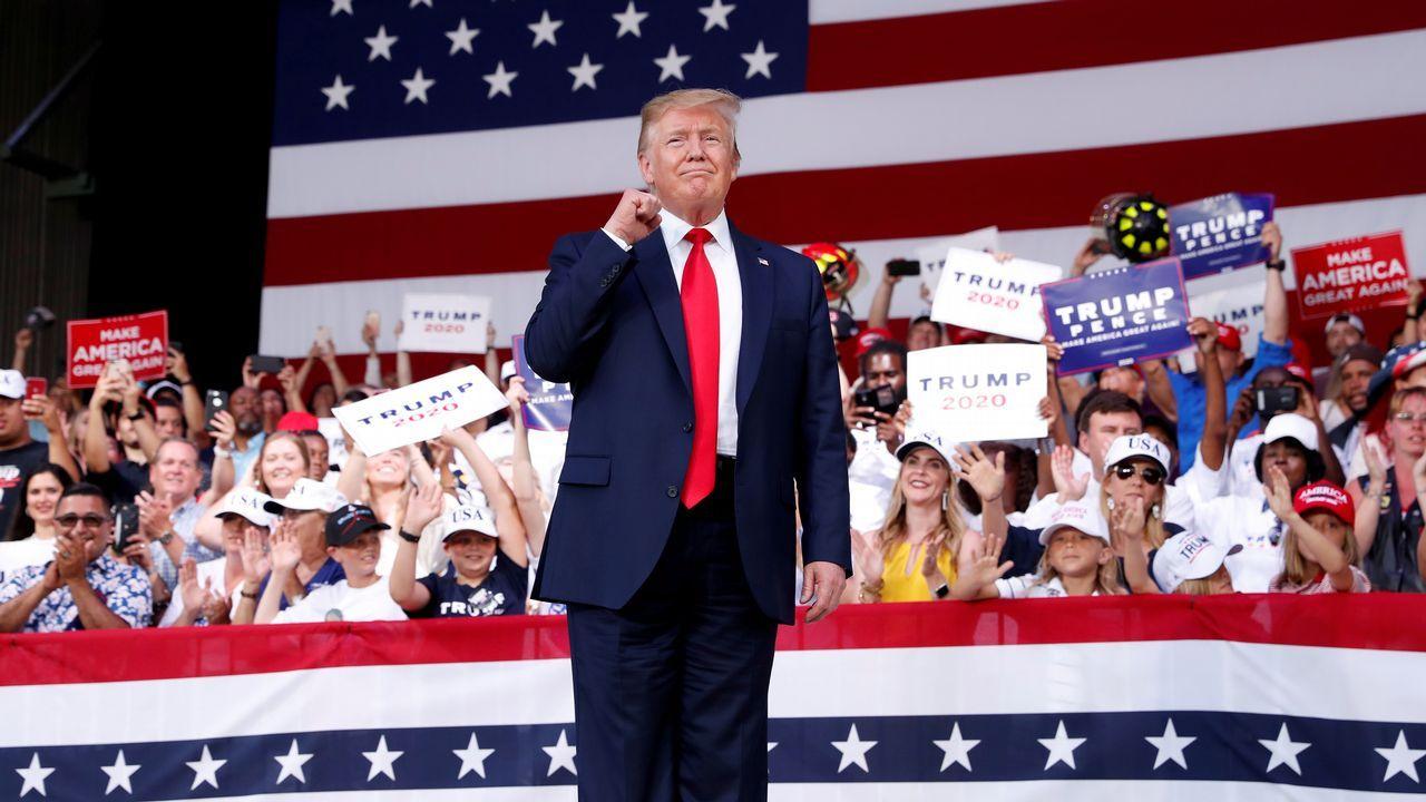 Trump se niega a enseñar su declaración de la renta
