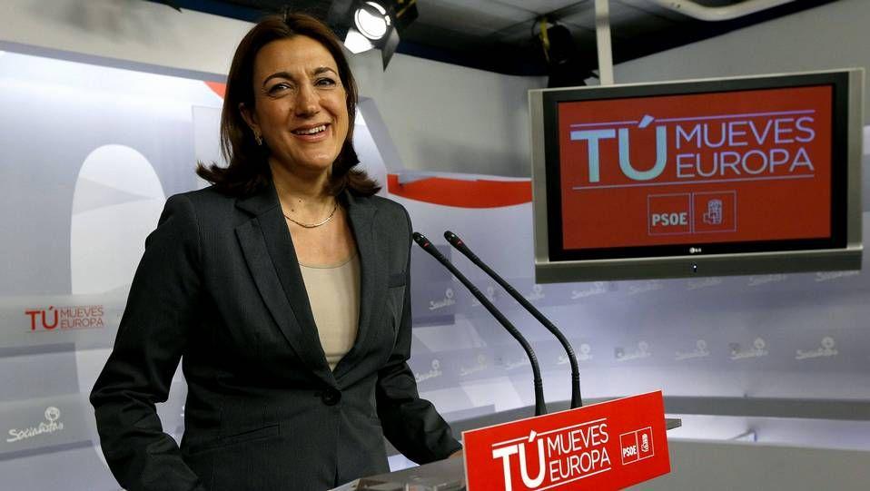 Soraya Rodríguez no será candidata.Pablo Iglesas, en el acto de acatamiento de la Constitución