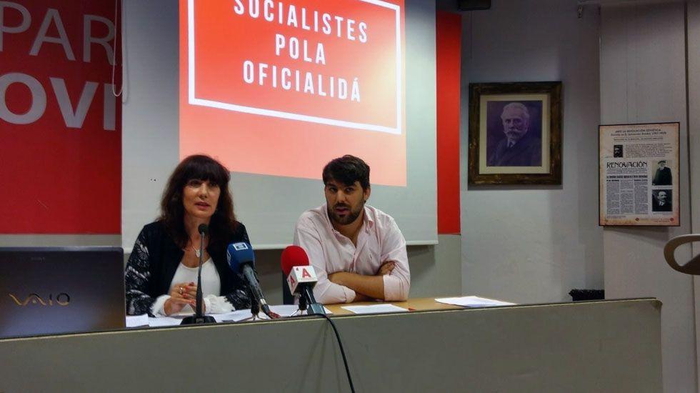 Mari Luz Pontón y Xuan García Vijande