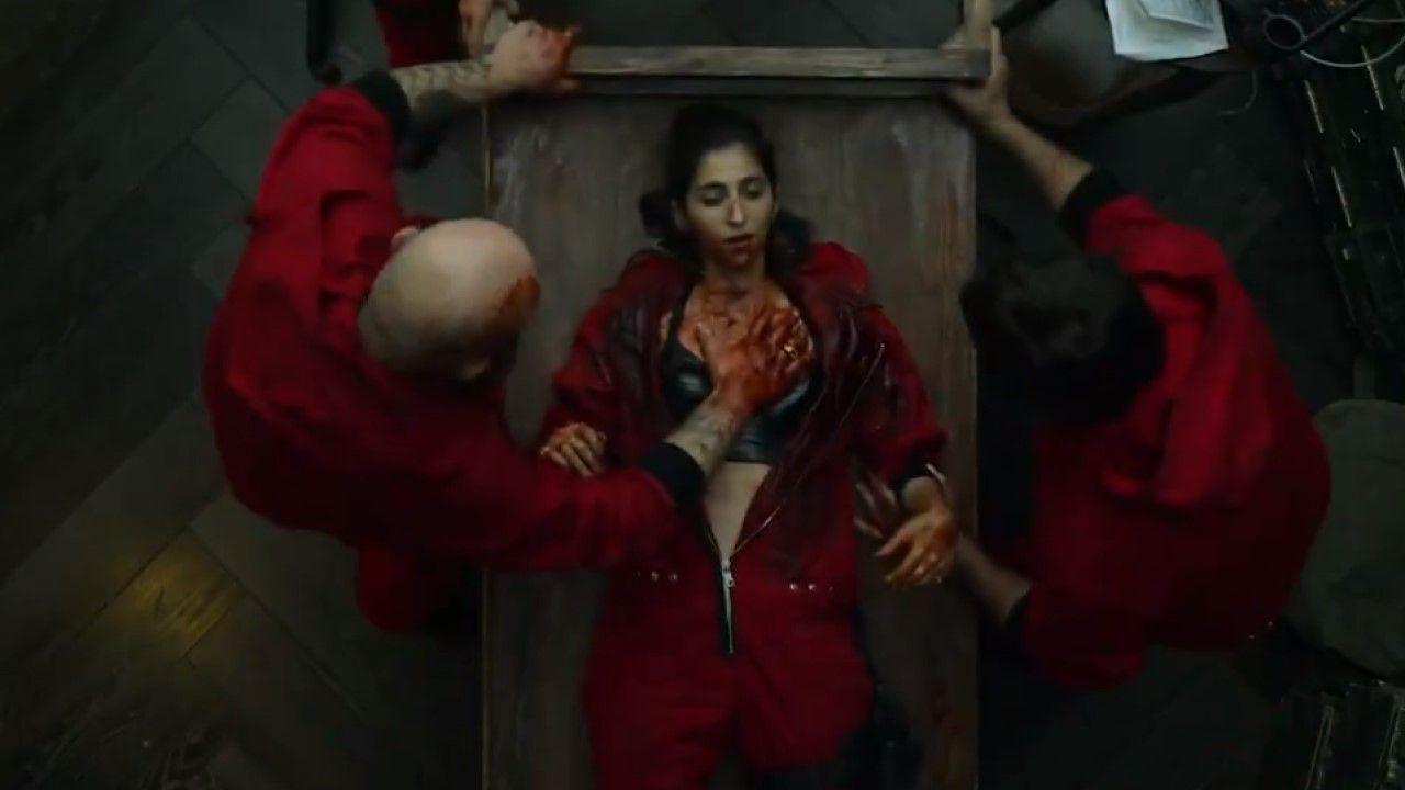 Tráiler de «La Casa de Papel».Álvaro Rico, Miguel Bernardeau y Arón Piper, en una imagen de la primera temporada de «Élite»