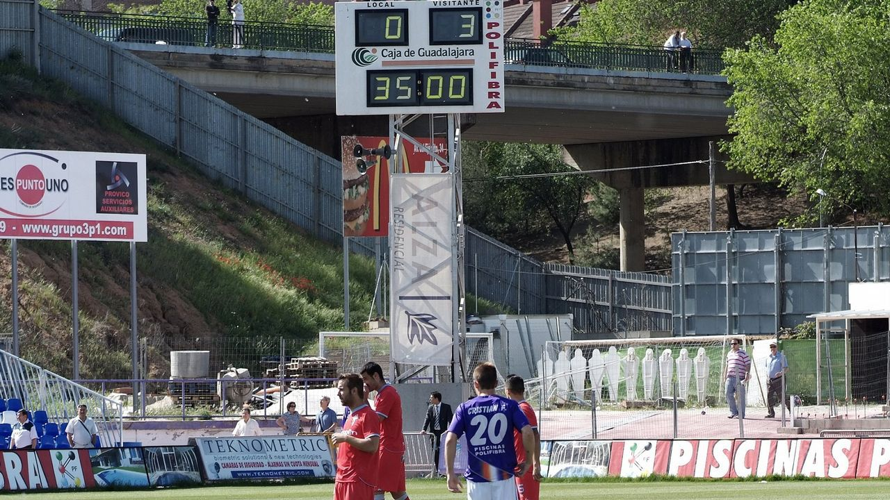 Guadalajara-Celta (0-3) el 16 de mayo del 2012