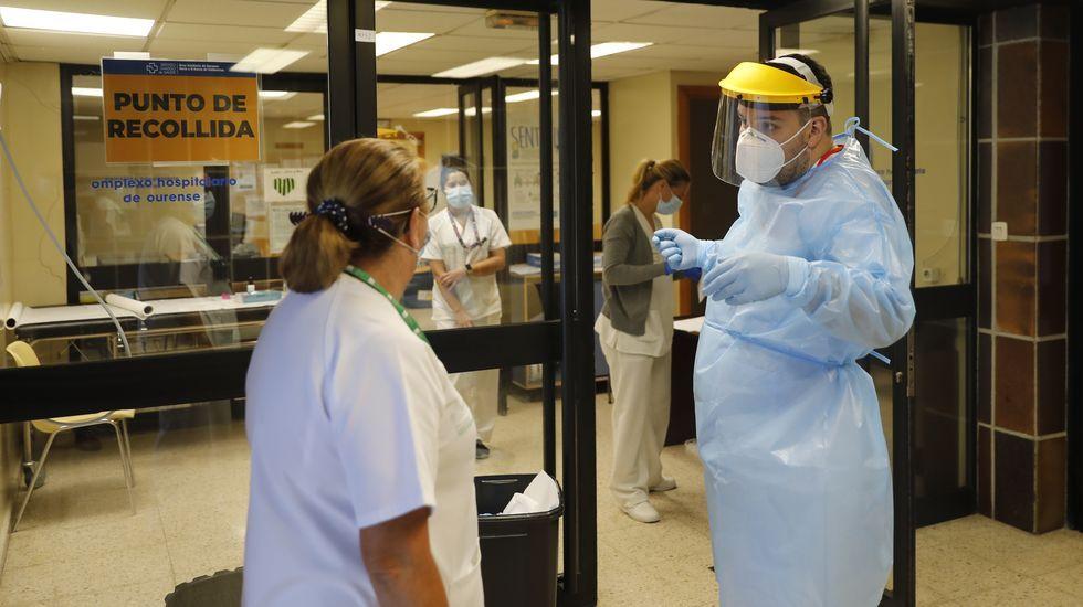 En las últimas 24 horas se hicieron 532 PCR en la provincia de Ourense