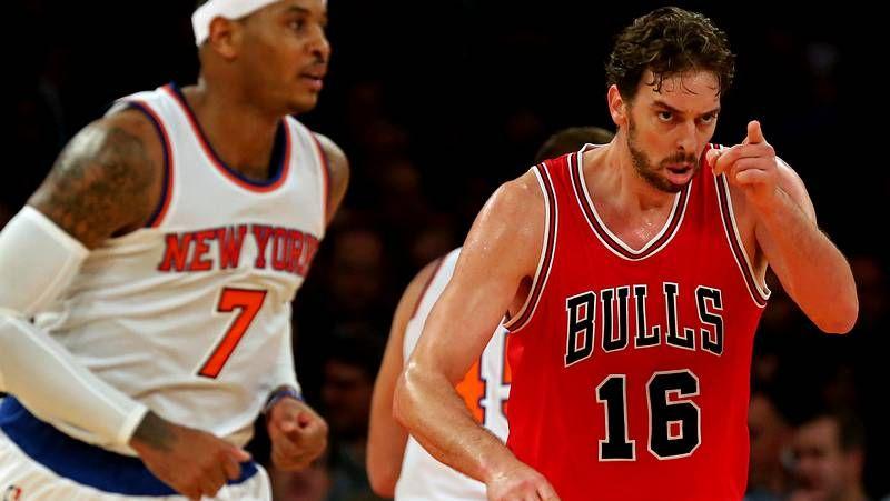 El debut de Pau Gasol con los Bulls