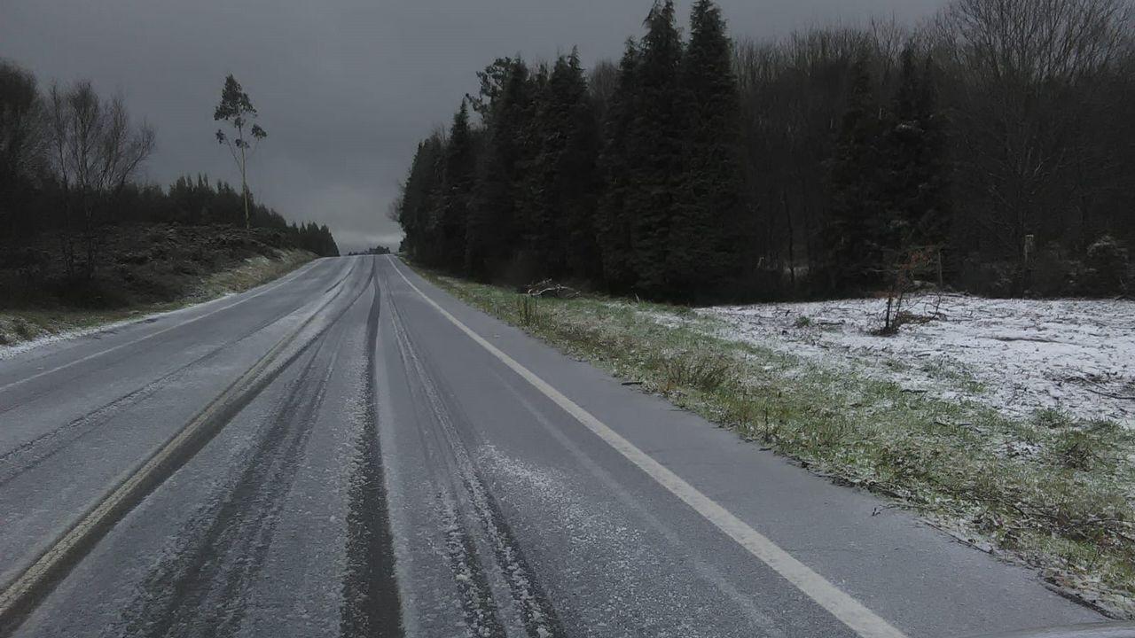 Nieve en Betanzos