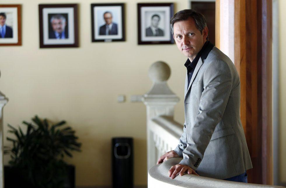 José Miñones entrou no goberno no 2009 e pasou o anterior mandato na oposición.