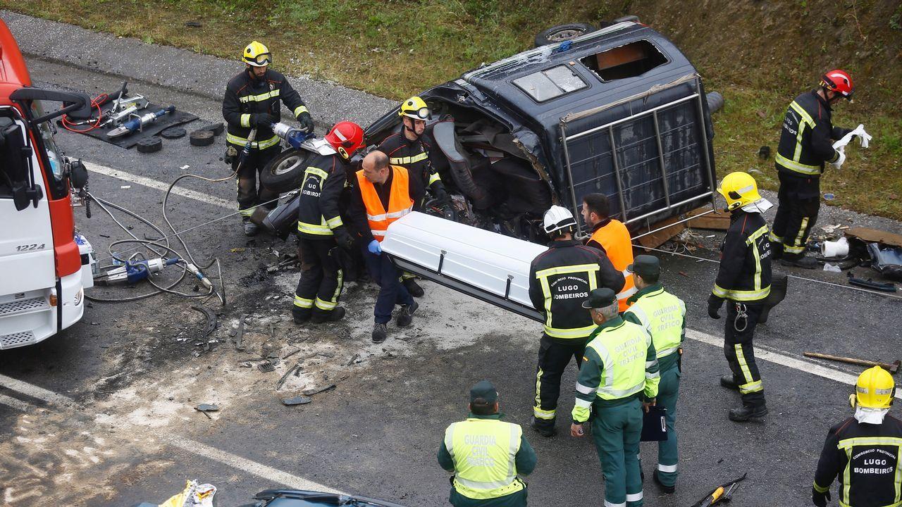 Accidente mortal en A Gañidoira.«Se registran frecuentemente accidentes como consecuencia del paso de animales», dice la Xunta en la licitación de la mejora de la seguridad vial en A Gañidoira