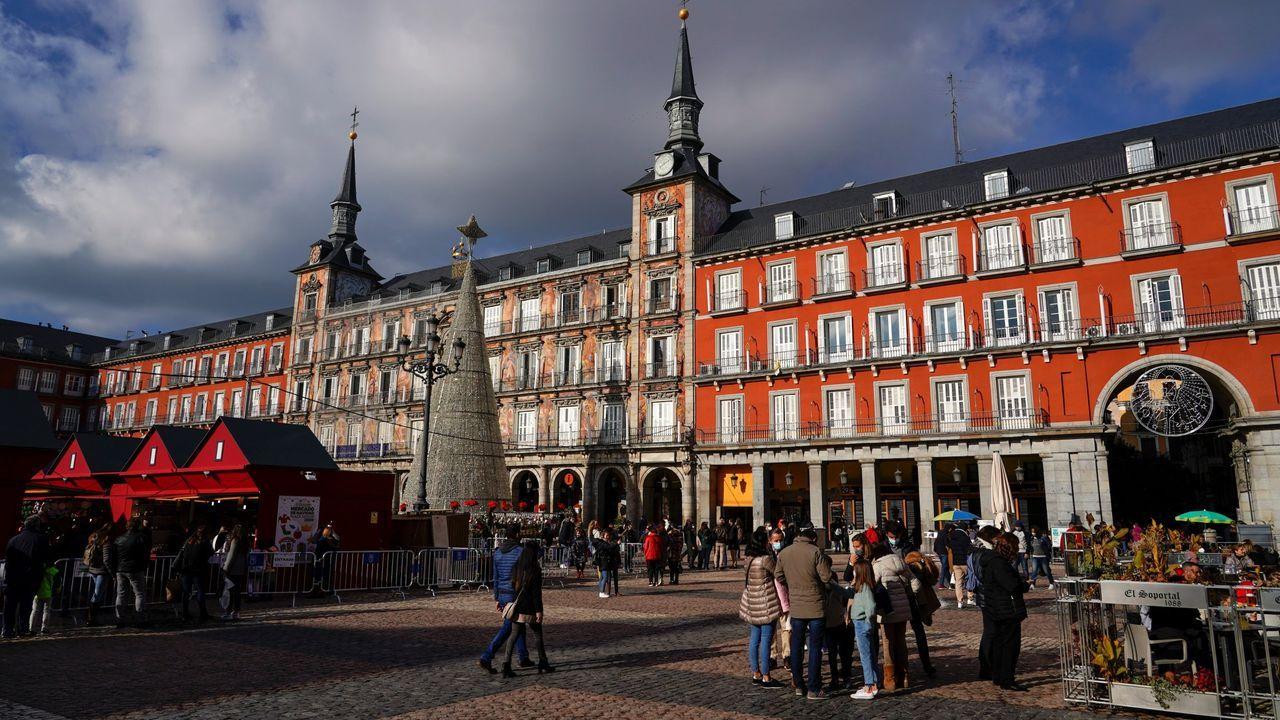 Iglesia de Frumales, en Segovia, de donde se llevó Carmen Polo una pila bautismal románica que ahora ha aparecido en Meirás