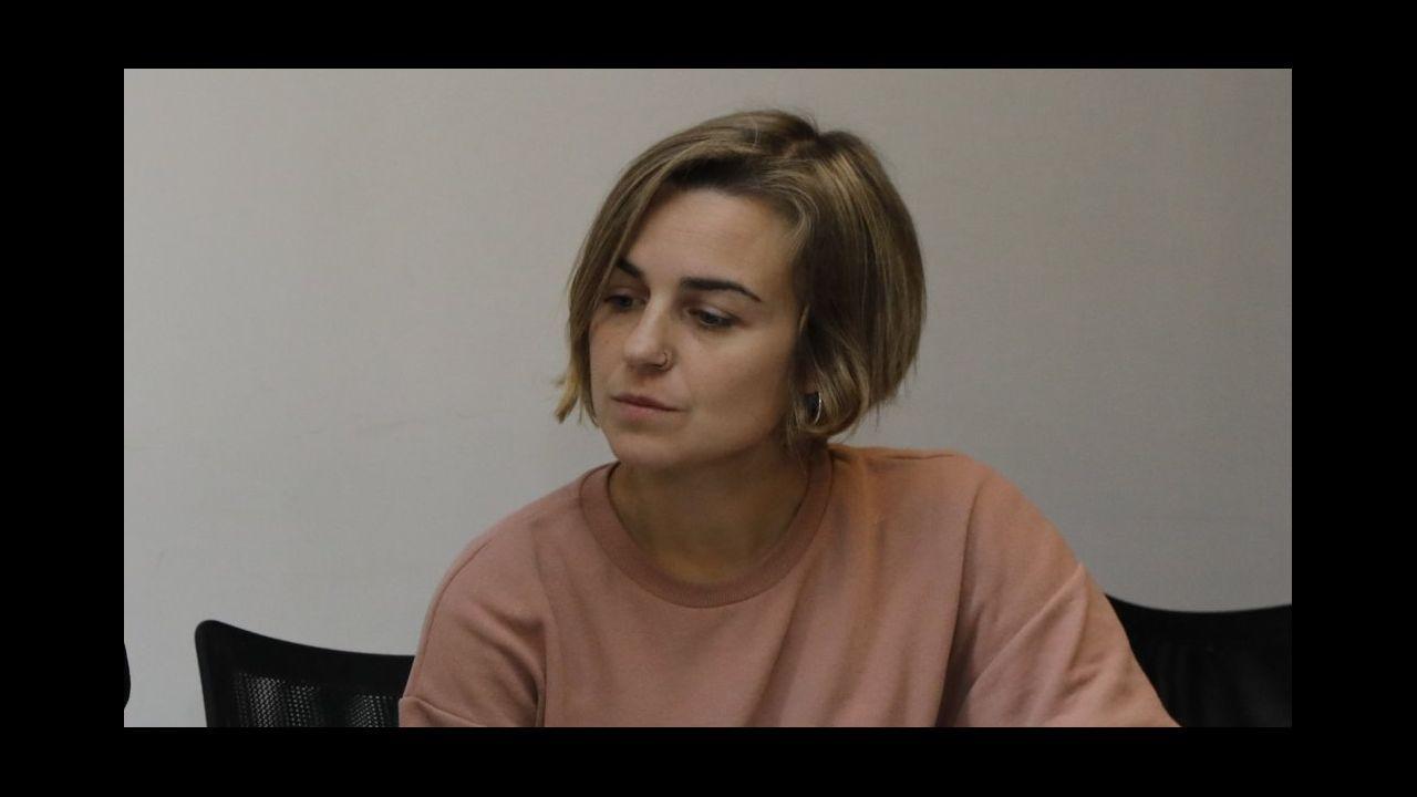 Búscate en la Carreira pola Igualdade del 8M.Lara Fernández Fernández-Noriega é concelleira de Cultura e Muller en Viveiro