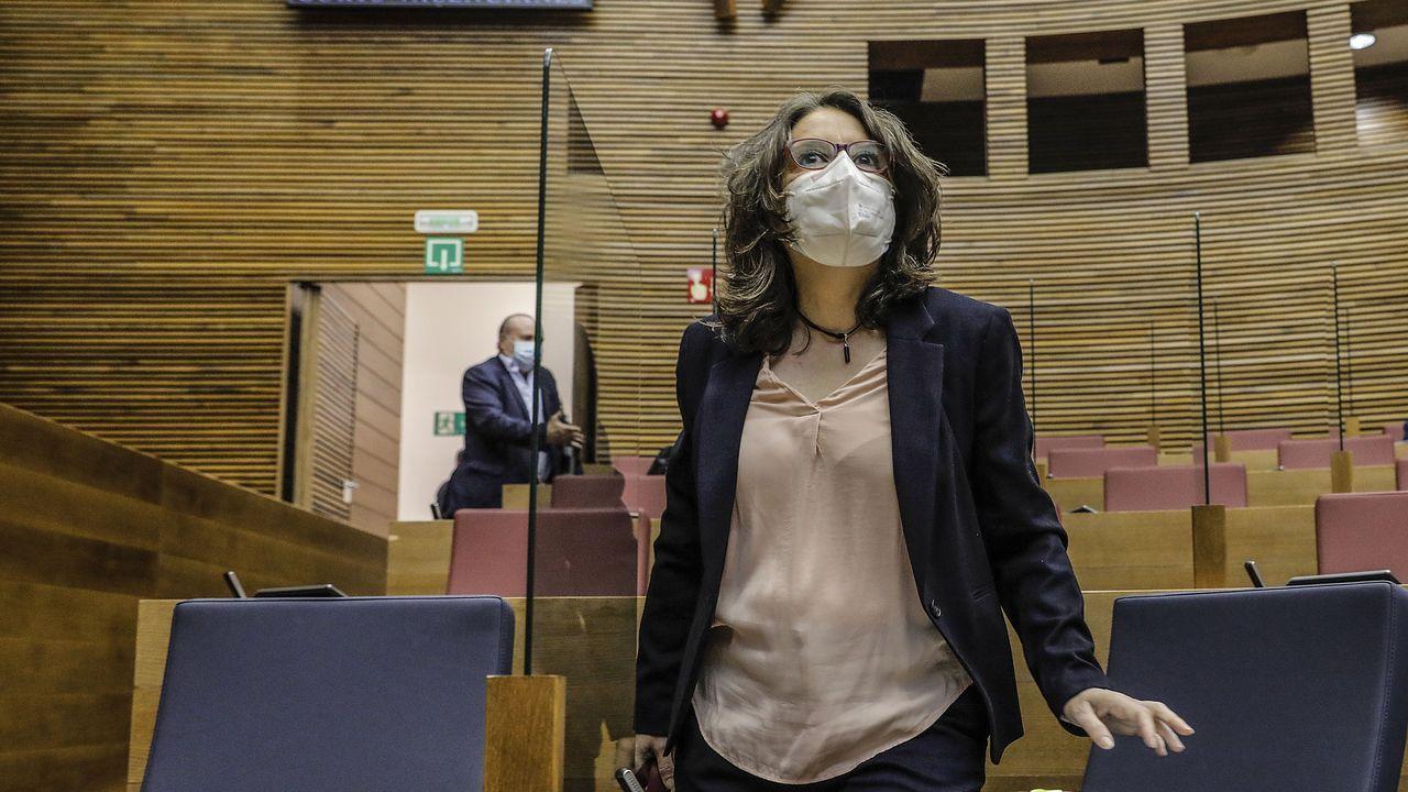 La vicepresidenta de la Comunidad Valenciana, Mónica Oltra