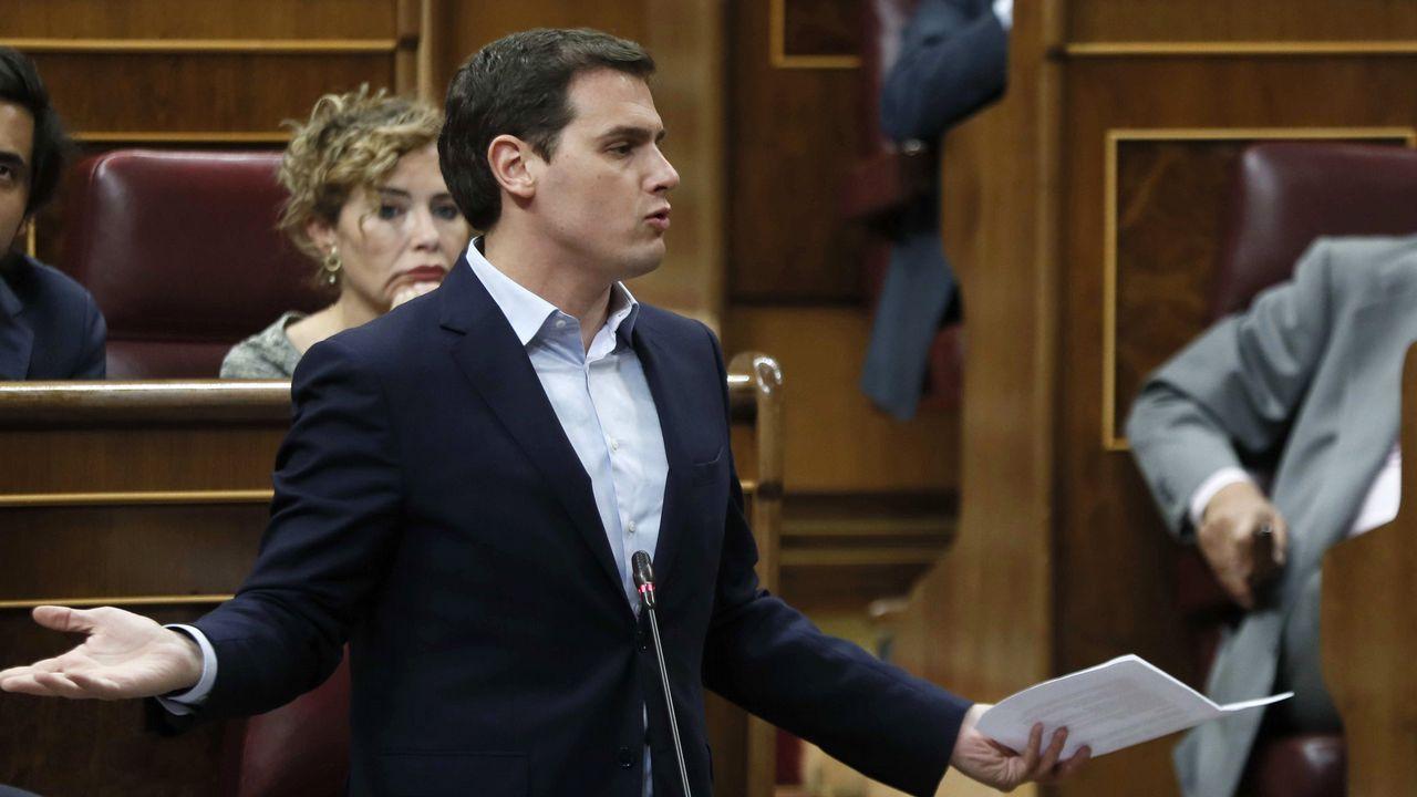Rajoy a Rivera: «Compórtese usted como se está comportando el PSOE en el tema de Cataluña y nos irá mucho mejor»