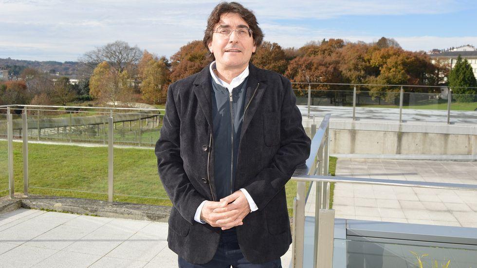 Lara Mendez alcaldesa de Lugo acude a los juzgado número uno de Lugo para declarar por un supuesto delito de malversación.Congreso Musapalabra en el Museo Provincial de Lugo