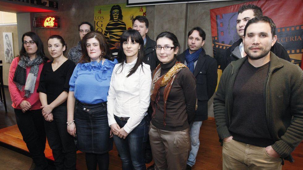 Primera directiva del CCU con María José Senra al frente, elegida en el 2011
