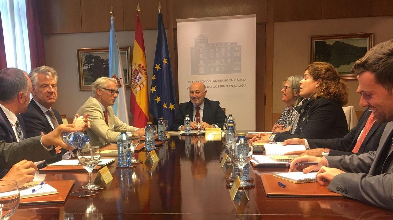 losada.El ministro de Fomento en funciones, José Luis Ábalos, durante su visita este jueves a las obras de la estación de cercanías de Nuevos Ministerios (Madrid)