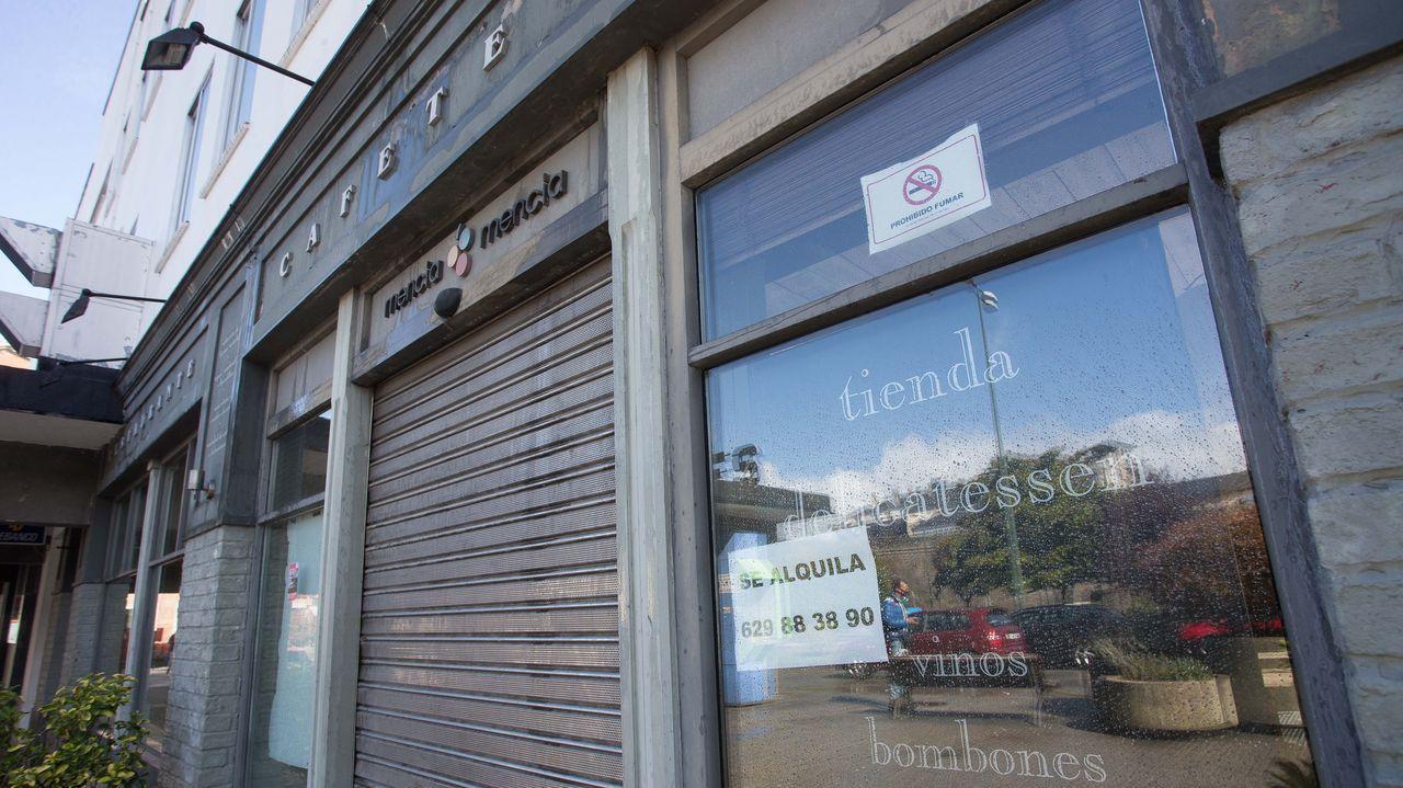 El restaurante de la estación de autobuses cerró el 13 de marzo y ahora está disponible para alquilar