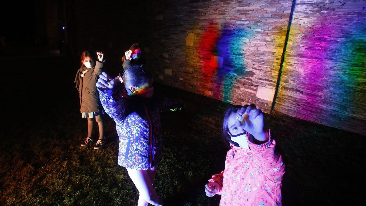 20 fotos para 20 años de la Muralla de Lugo Patrimonio de la Humanidad.Iluminación en la Muralla de Lugo