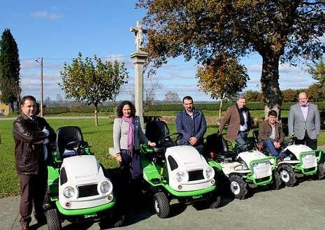 La maquinaria recién adquirida permitirá cuidar las zonas verdes