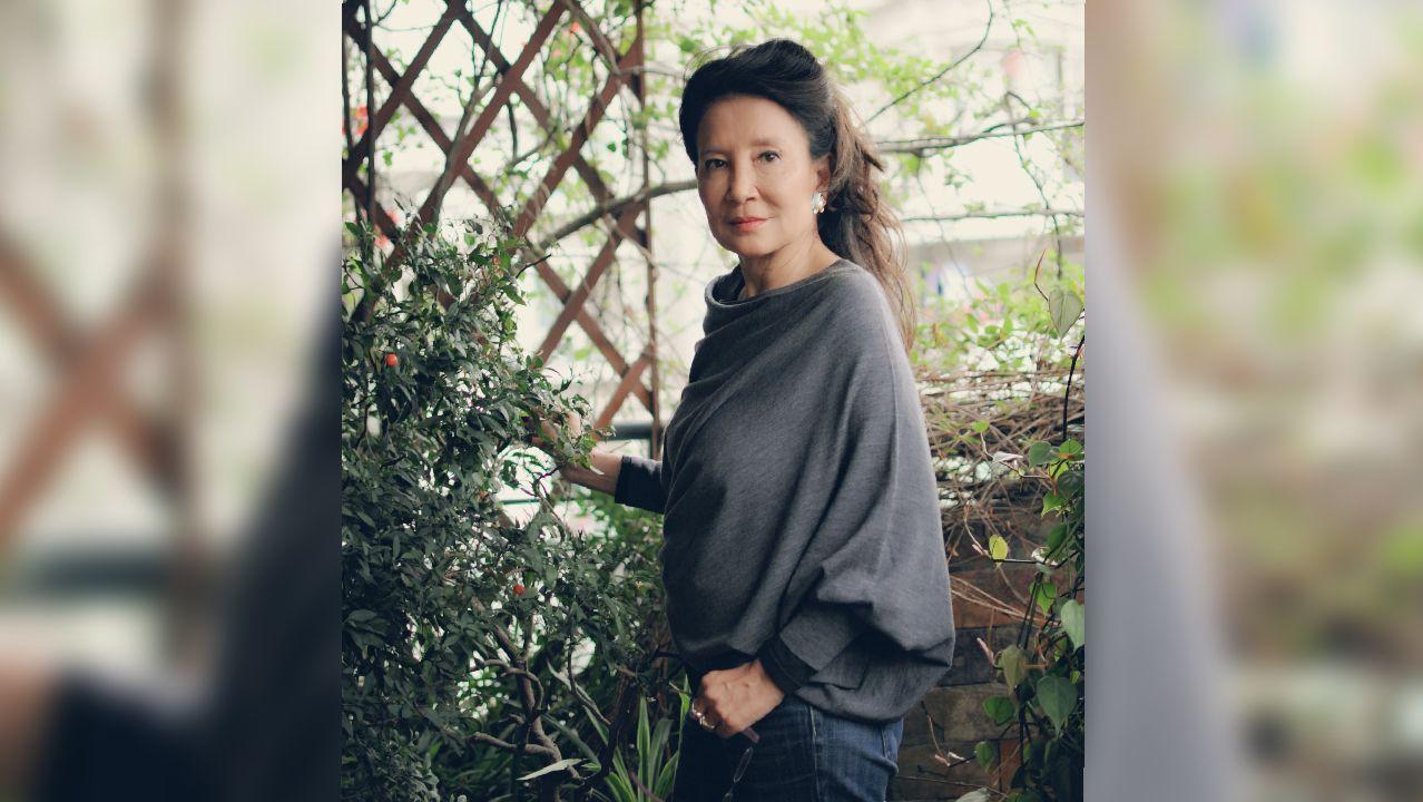 La escritora Jung Chang (Yibín, Sichuan, 1952)