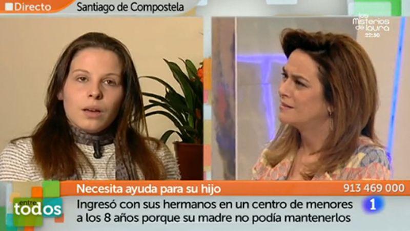 Toñi Moreno a una joven maltratada: «O se denuncia o se calla una para el resto de la vida»