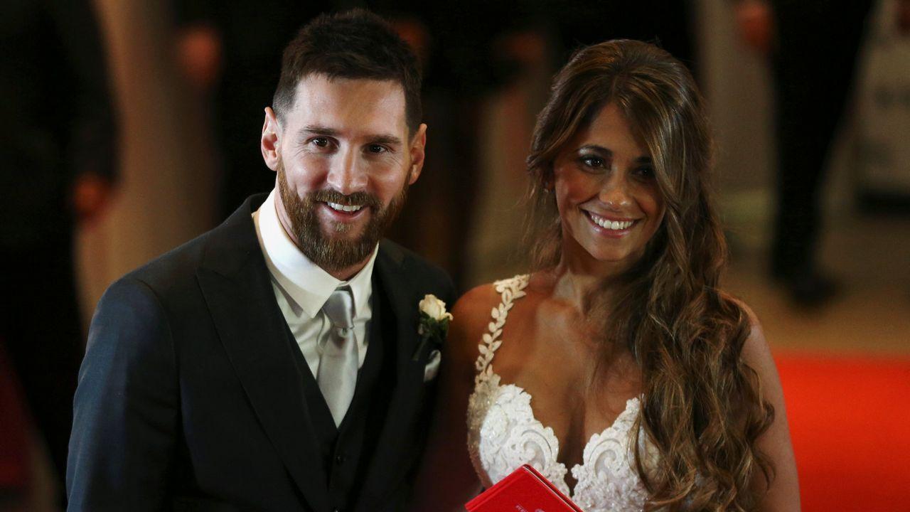 La boda de Messi y Antonella Rocuzzo, en imágenes