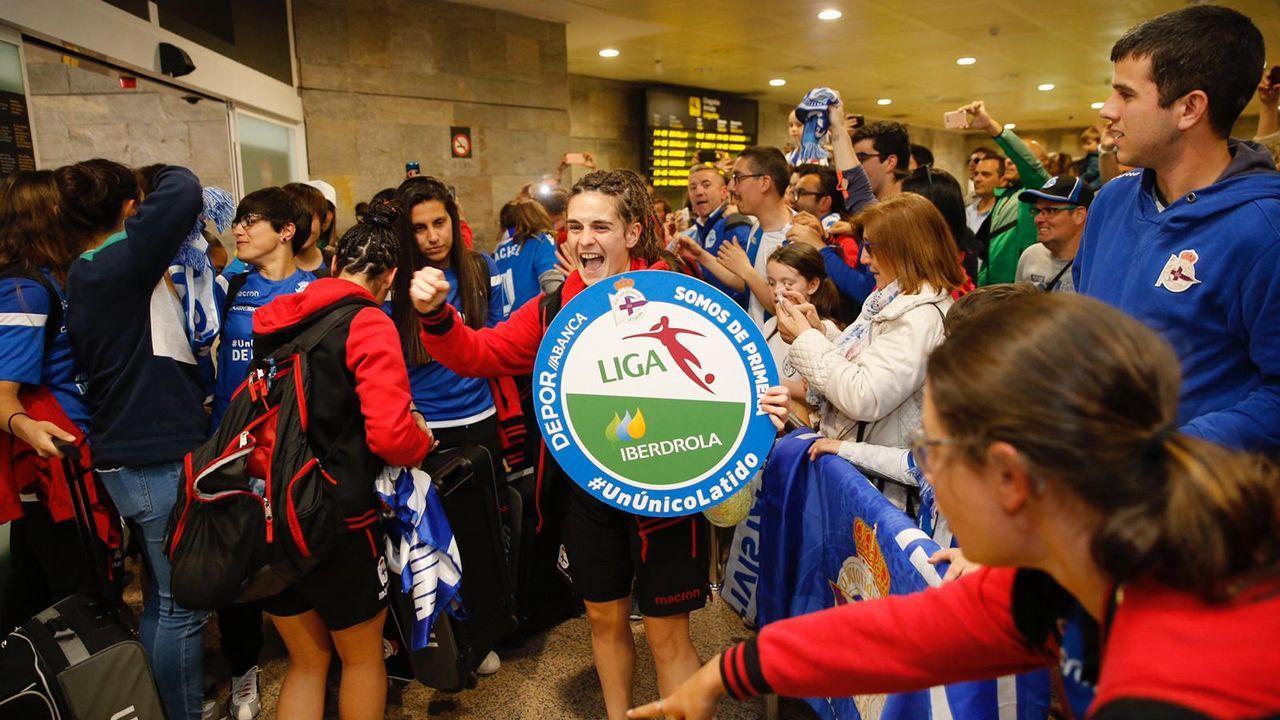 La brusca entrada sobre Álex Bergantiños que lo retiró del campo.Aficionados del Dépor en Mallorca