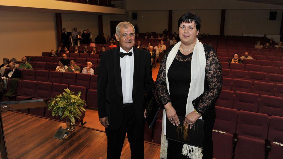 Rogelio Sánchez, en una imagen tomada en el 2011, junto a su hija