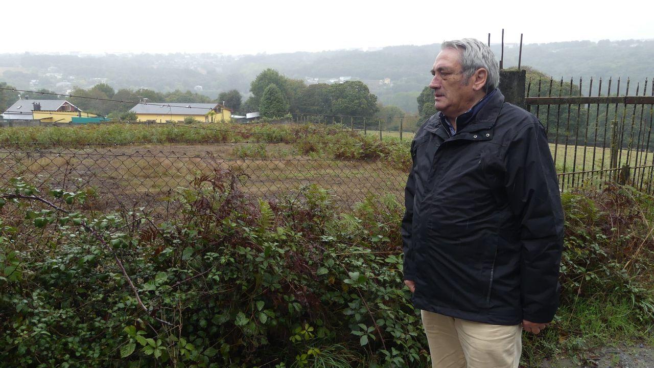 Manuel Lopez, conceja del PPl responsable de la zona rural de Lugo