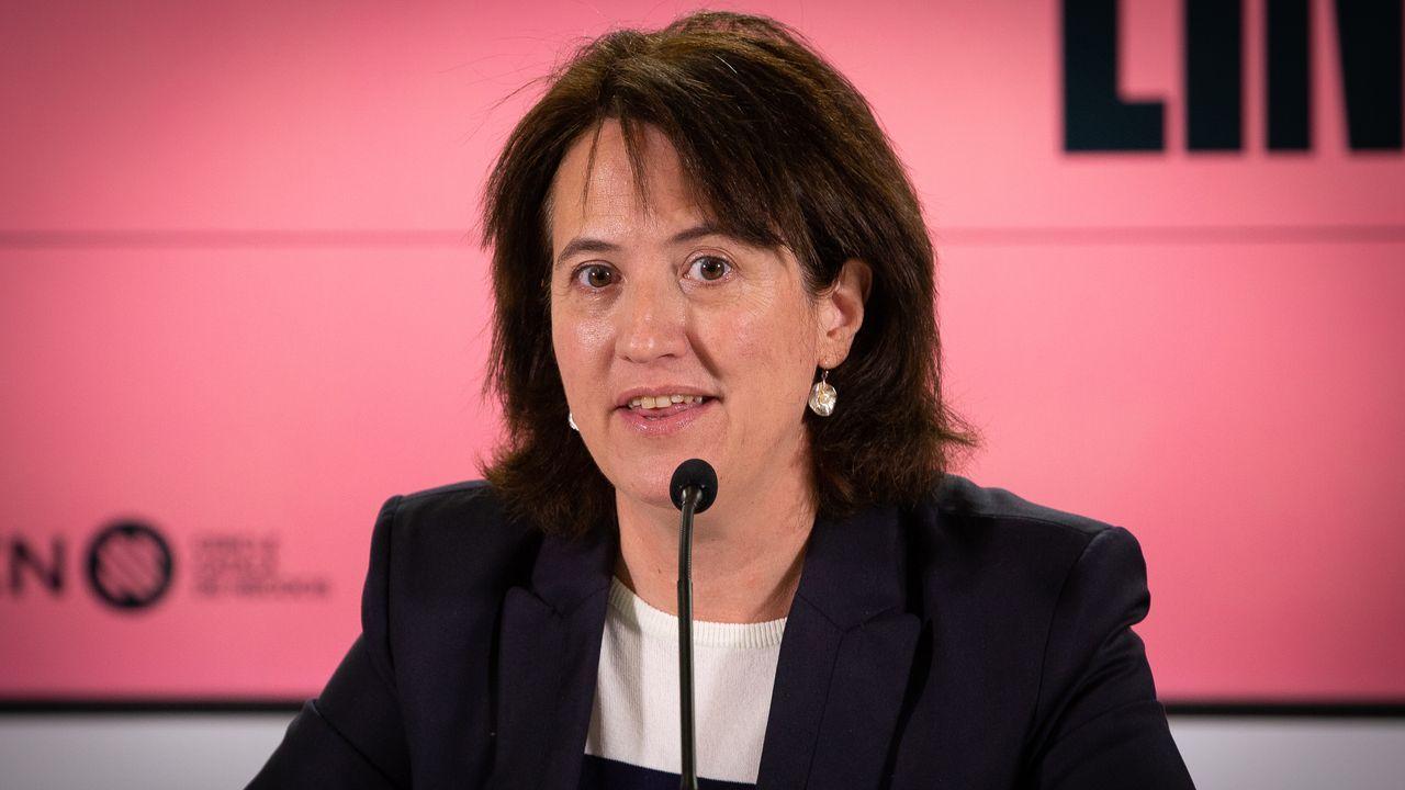 La presidenta de la Asamblea Nacional Catalana (ANC), Elisenda Paluzie