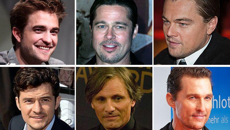 Los actores que peor huelen de Hollywood.Brad Pitt durante el estreno de «Malefica»