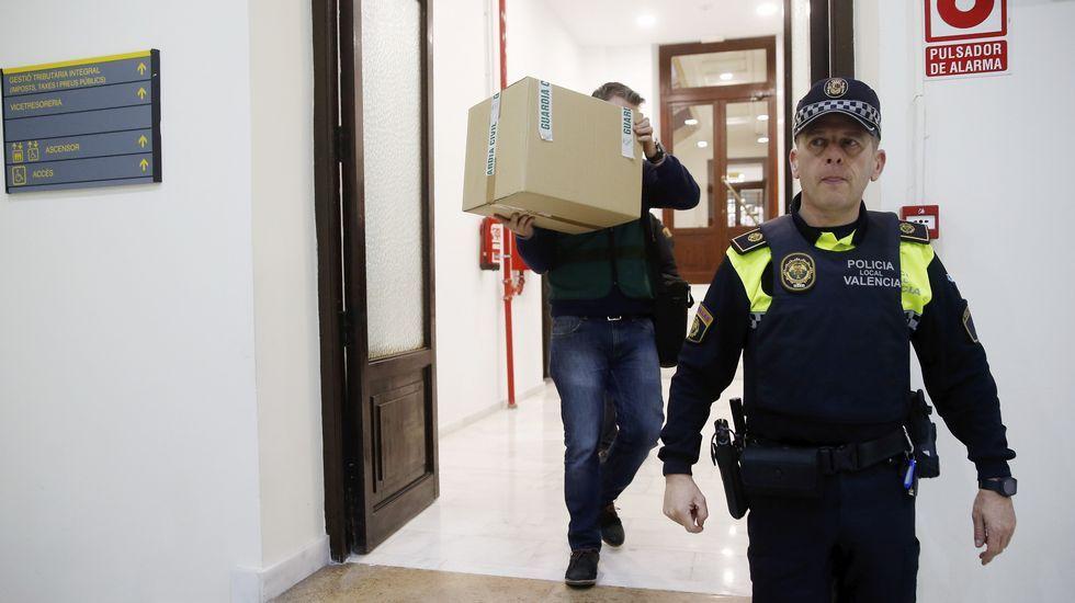 Carlos Fabra sale de la cárcel de Aranjuez.Carlos Fabra, saliendo de la cárcel la semana pasada