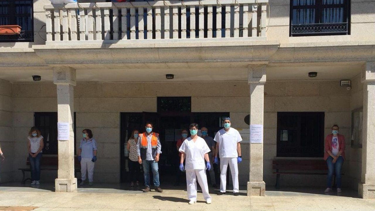 Vilamartin de Valdeorras se sumó al minuto de silencio