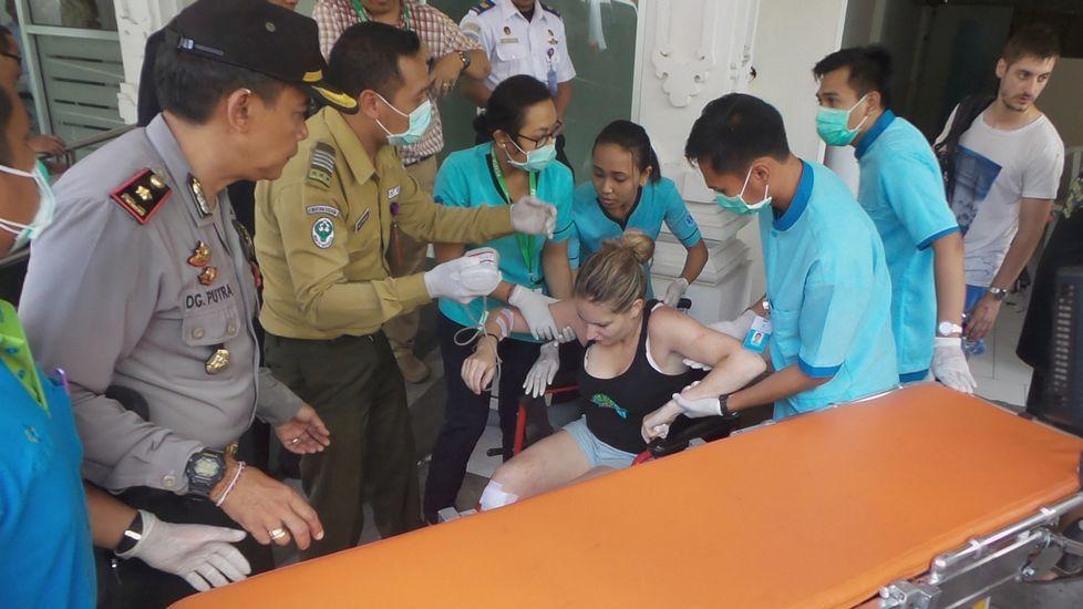 El naufragio de Bali, en imágenes.Accidente con una española fallecida en Indonesia
