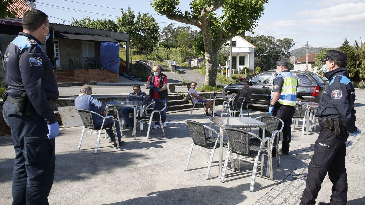 La Policía de Rianxo está a la espera de reforzarse con otros cuatro auxiliares