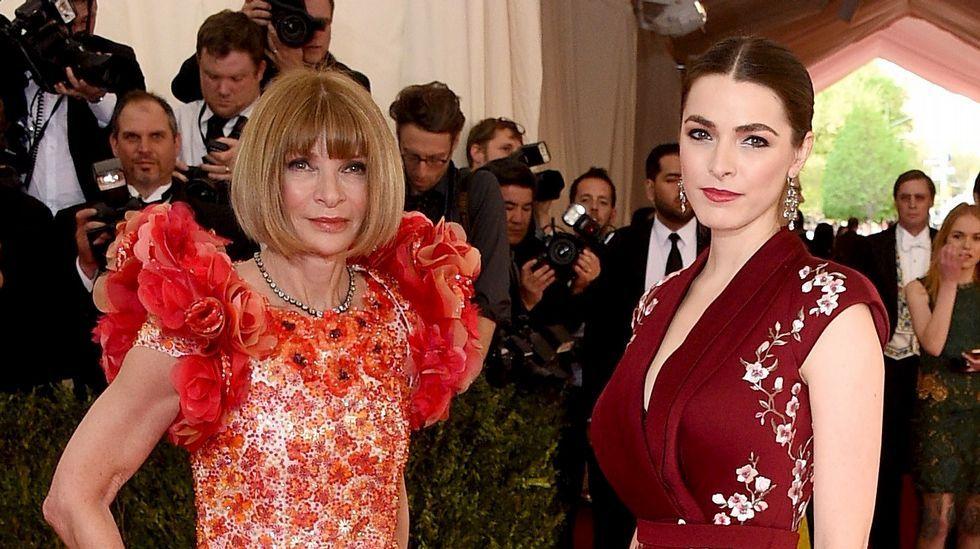 Anna Wintour con su hija Bee Shaffer