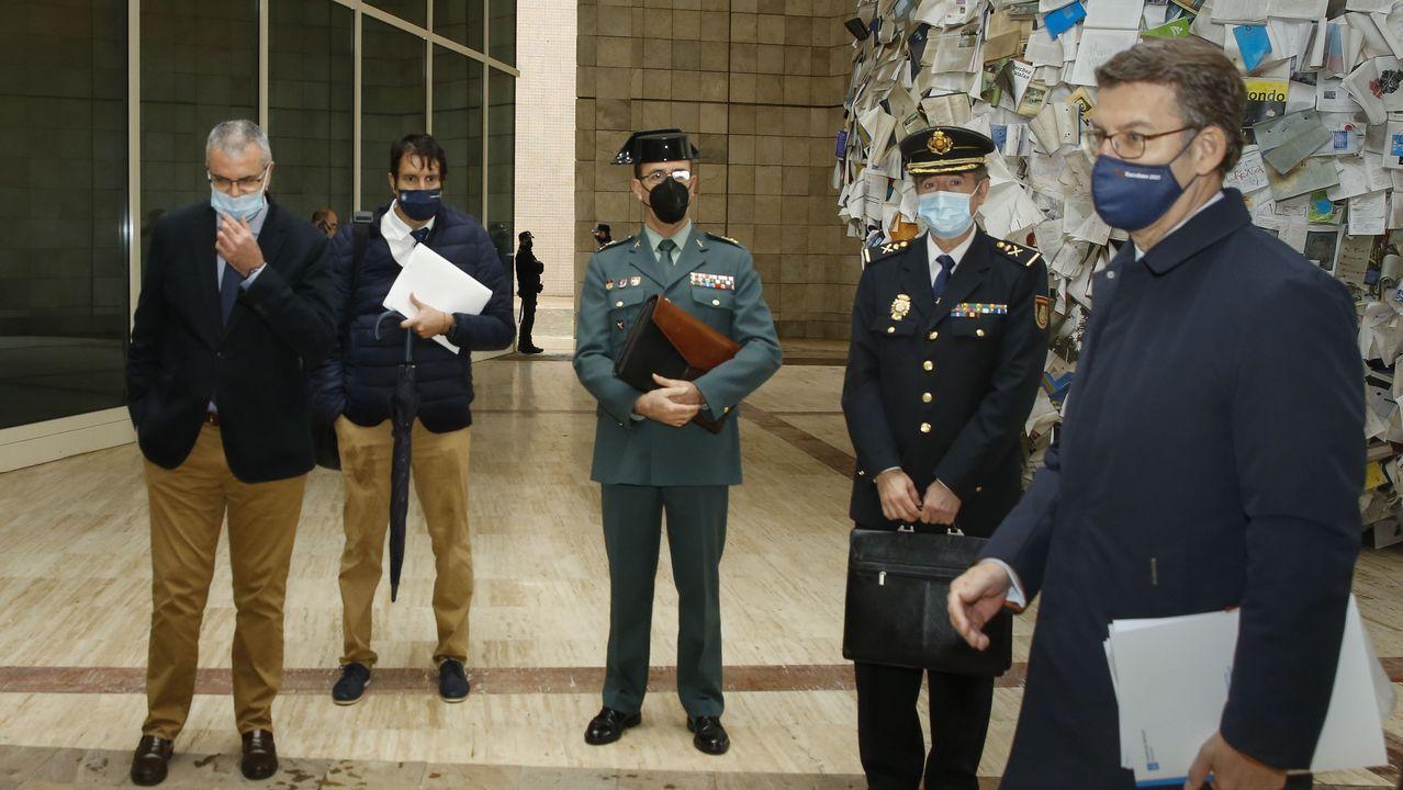 Oposiciones del Sergas en el recinto ferial de Silleda