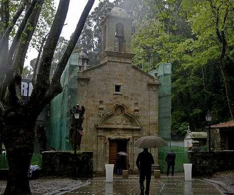 A traxectoria de «Pico».El exterior del templo sufrió una profunda limpieza