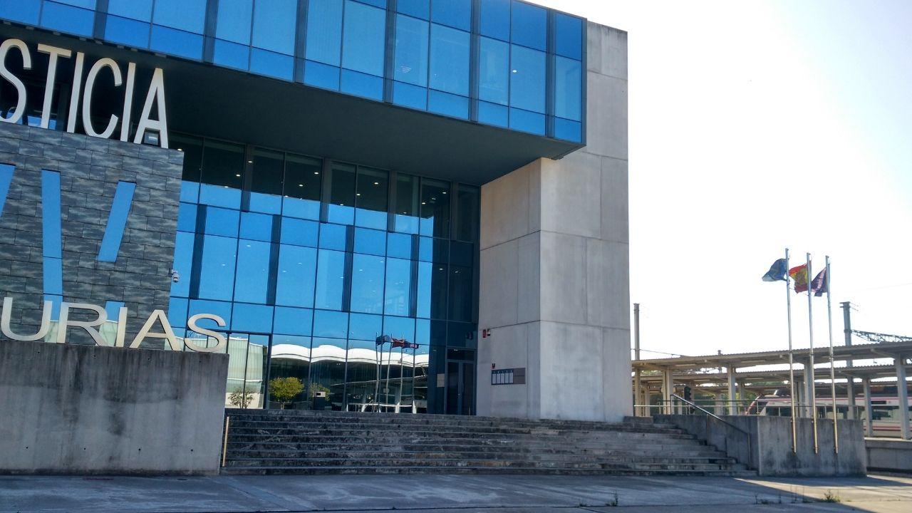 Palacio de Justicia de Gijón. Juzgados.Palacio de Justicia de Gijón